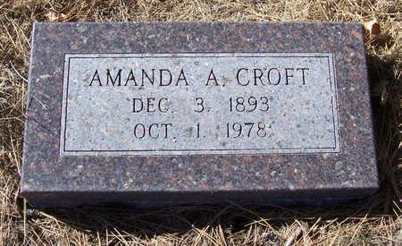 CROFT, AMANDA A. - Shelby County, Iowa | AMANDA A. CROFT