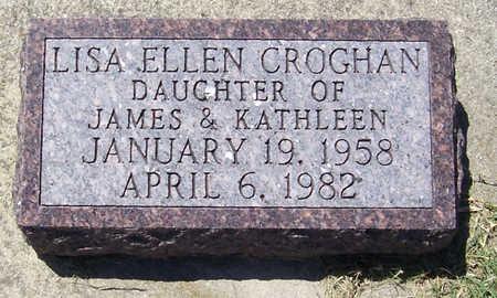 CROGHAN, LISA ELLEN - Shelby County, Iowa | LISA ELLEN CROGHAN