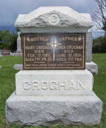 TIERMAN CROGHAN, MARY - Shelby County, Iowa | MARY TIERMAN CROGHAN
