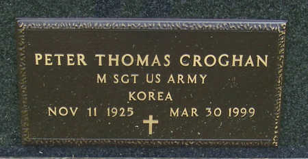CROGHAN, PETER THOMAS (MILITARY) - Shelby County, Iowa | PETER THOMAS (MILITARY) CROGHAN