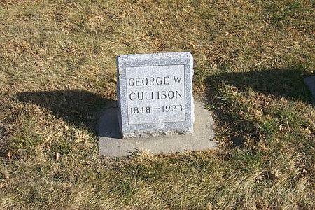 CULLISON, GEORGE W. - Shelby County, Iowa   GEORGE W. CULLISON