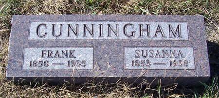 CUNNINGHAM, FRANK - Shelby County, Iowa   FRANK CUNNINGHAM