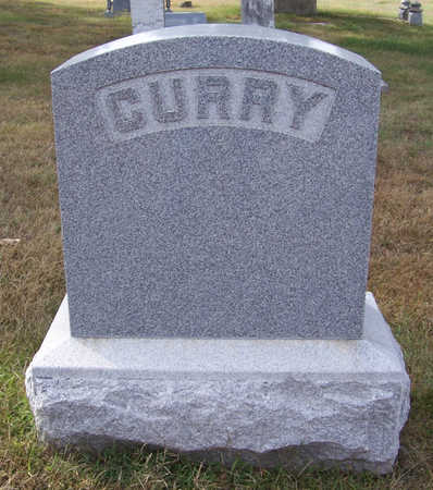 CURRY, ARTHUR E. & ALICE H. (LOT STONE) - Shelby County, Iowa   ARTHUR E. & ALICE H. (LOT STONE) CURRY