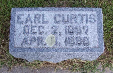 CURTIS, EARL - Shelby County, Iowa | EARL CURTIS