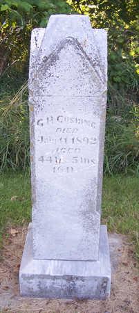 CUSHING, G. H. - Shelby County, Iowa   G. H. CUSHING