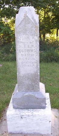 CUSHING, JOHN H. - Shelby County, Iowa   JOHN H. CUSHING