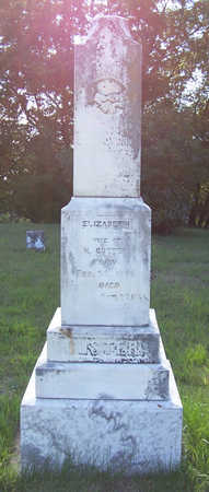 CUSTER, ELIZABETH - Shelby County, Iowa | ELIZABETH CUSTER