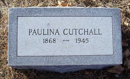 CUTCHALL, PAULINA - Shelby County, Iowa | PAULINA CUTCHALL