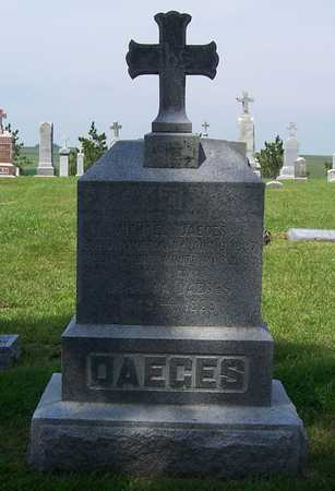 DAEGES, MICHAEL - Shelby County, Iowa   MICHAEL DAEGES