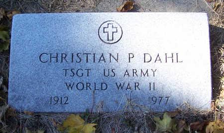 DAHL, CHRISTIAN P. (MILITARY) - Shelby County, Iowa   CHRISTIAN P. (MILITARY) DAHL