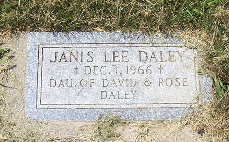 DALEY, JANIS LEE - Shelby County, Iowa | JANIS LEE DALEY