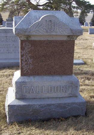 DALLDORF, JOHANN J. & CHRISTINA (LOT) - Shelby County, Iowa | JOHANN J. & CHRISTINA (LOT) DALLDORF