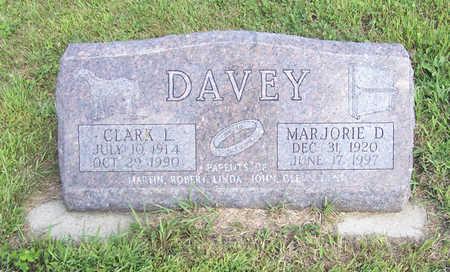 DAVEY, MARJORIE D. - Shelby County, Iowa | MARJORIE D. DAVEY