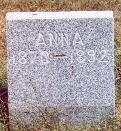 DAVIS, ANNA - Shelby County, Iowa | ANNA DAVIS