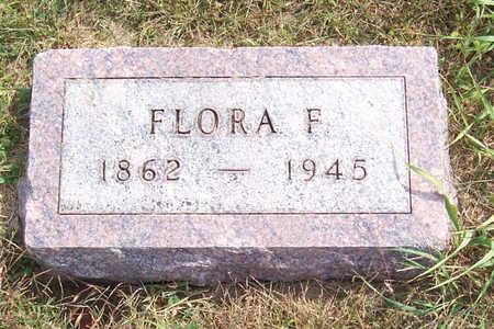 DAVIS, FLORA F. - Shelby County, Iowa   FLORA F. DAVIS