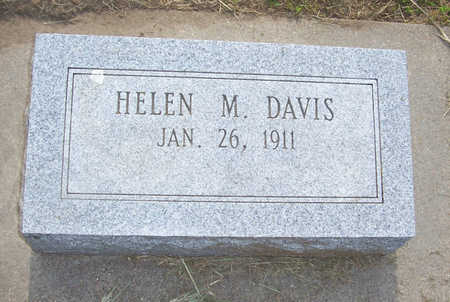 DAVIS, HELEN M. - Shelby County, Iowa   HELEN M. DAVIS