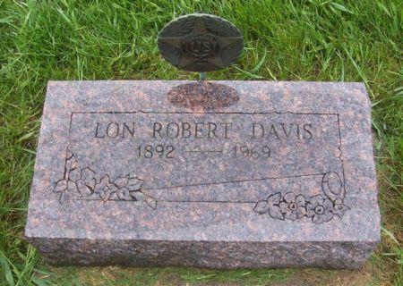 DAVIS, LON ROBERT - Shelby County, Iowa   LON ROBERT DAVIS