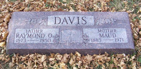 DAVIS, RAYMOND O. (FATHER) - Shelby County, Iowa | RAYMOND O. (FATHER) DAVIS