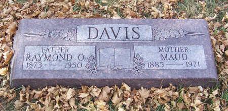 DAVIS, MAUD (MOTHER) - Shelby County, Iowa | MAUD (MOTHER) DAVIS