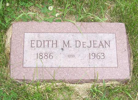 DEJEAN, EDITH M. - Shelby County, Iowa | EDITH M. DEJEAN