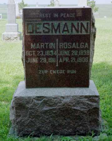DESMANN, ROSALGA - Shelby County, Iowa | ROSALGA DESMANN
