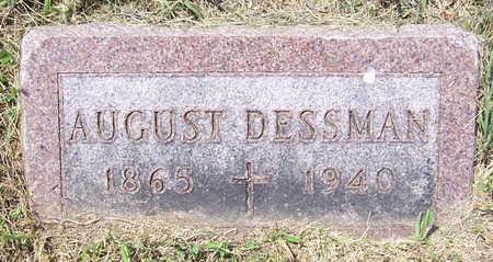 DESSMAN, AUGUST - Shelby County, Iowa   AUGUST DESSMAN