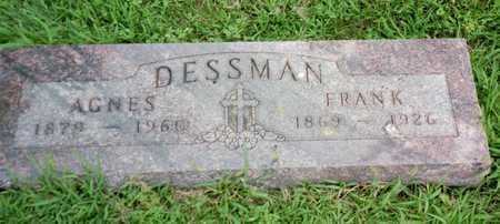 DESSMAN, AGNES - Shelby County, Iowa | AGNES DESSMAN