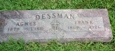 DESSMAN, FRANK - Shelby County, Iowa   FRANK DESSMAN