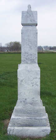 DICKEY, (FRONT OF STONE) - Shelby County, Iowa | (FRONT OF STONE) DICKEY