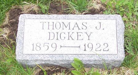 DICKEY, THOMAS J. - Shelby County, Iowa   THOMAS J. DICKEY