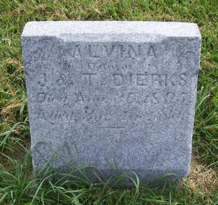 DIERKS, ALVINA - Shelby County, Iowa | ALVINA DIERKS
