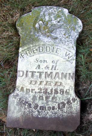 DITTMANN, FREDDIE W. - Shelby County, Iowa | FREDDIE W. DITTMANN