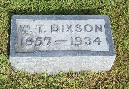 DIXSON, W. T. - Shelby County, Iowa   W. T. DIXSON