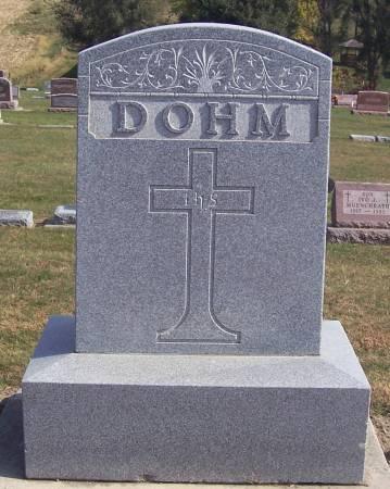 DOHM, FRANK (LOT) - Shelby County, Iowa   FRANK (LOT) DOHM