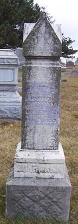 DOHRMAN, CHRISTINE - Shelby County, Iowa | CHRISTINE DOHRMAN