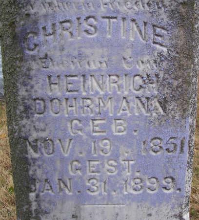 DOHRMAN, CHRISTINE (CLOSE-UP) - Shelby County, Iowa | CHRISTINE (CLOSE-UP) DOHRMAN
