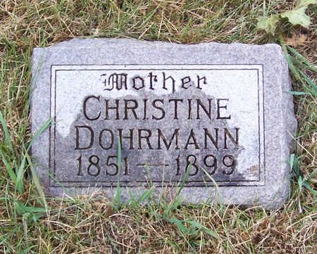 DOHRMAN, CHRISTINE (MOTHER) - Shelby County, Iowa   CHRISTINE (MOTHER) DOHRMAN