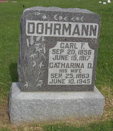 DOHRMANN, CATHARINA D. - Shelby County, Iowa | CATHARINA D. DOHRMANN