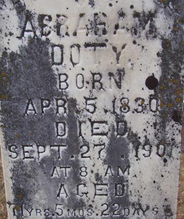 DOTY, ABRAHAM (CLOSE-UP) - Shelby County, Iowa | ABRAHAM (CLOSE-UP) DOTY