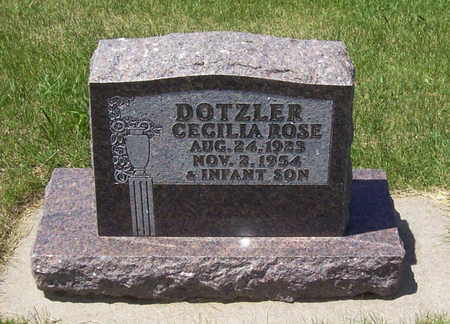 DOTZLER, CECILIA ROSE - Shelby County, Iowa   CECILIA ROSE DOTZLER