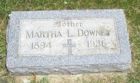 DOWNEY, MARTHA L. - Shelby County, Iowa | MARTHA L. DOWNEY