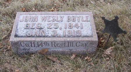 DOYLE, JOHN WESLY (MILITARY) - Shelby County, Iowa | JOHN WESLY (MILITARY) DOYLE