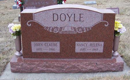 DOYLE, JOHN CLAUDE - Shelby County, Iowa | JOHN CLAUDE DOYLE