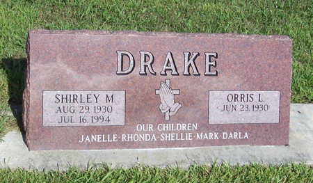 DRAKE, SHIRLEY M. - Shelby County, Iowa | SHIRLEY M. DRAKE