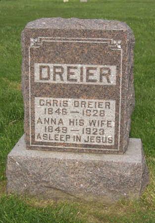 DREIER, ANNA - Shelby County, Iowa | ANNA DREIER
