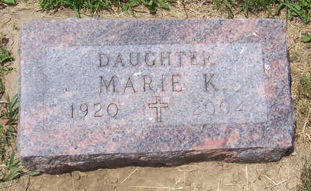 DRESEL, MARIE K. - Shelby County, Iowa | MARIE K. DRESEL