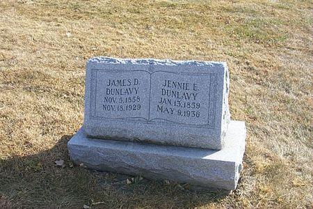 DUNLAVY, JENNIE E. - Shelby County, Iowa | JENNIE E. DUNLAVY