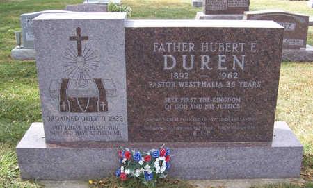 DUREN, HUBERT E. - Shelby County, Iowa | HUBERT E. DUREN