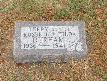 DURHAM, TERRY - Shelby County, Iowa | TERRY DURHAM