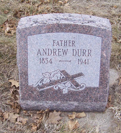 DURR, ANDREW (FATHER) - Shelby County, Iowa   ANDREW (FATHER) DURR